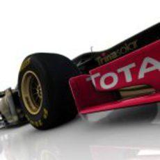 'Morro de pato' del Lotus E20