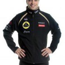 Jérôme D'Ambrosio, piloto reserva de Lotus para 2012