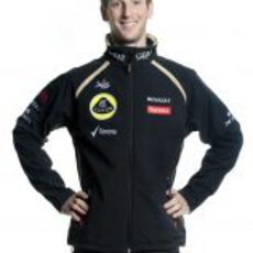 Romain Grosjean, piloto de Lotus para 2012