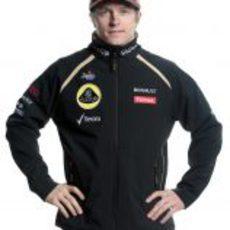 Kimi Räikkönen, piloto de Lotus para 2012