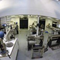 Fábrica de Lotus en Enstone