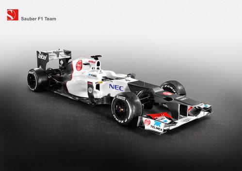 C31, el monoplaza de Sauber para 2012