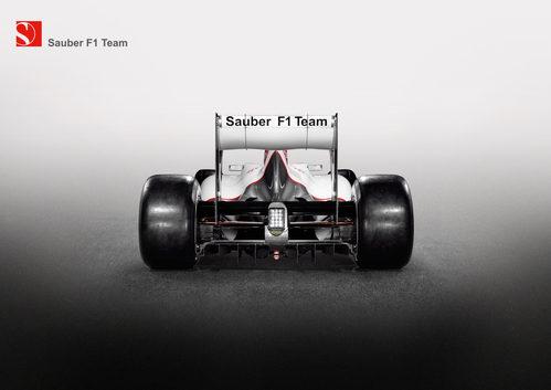 Sauber C31 (vista trasera)