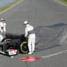 Sergio Pérez y Kamui Kobayashi desvelan en Sauber C31