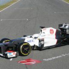 Sauber C31 presentado en Jerez