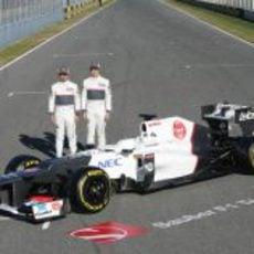 Kamui Kobayashi, Sergio Pérez y el Sauber C31