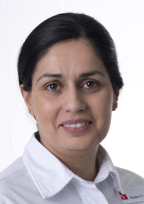 Monisha Kaltenborn, presidenta ejecutiva de Sauber para 2012