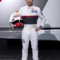 Kamui Kobayashi, piloto de Sauber para 2012
