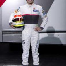 Sergio Pérez, piloto de Sauber para 2012