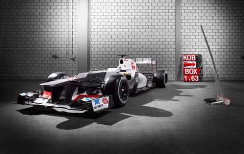 Sauber C31 en su estreno