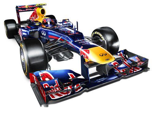 Nuevo RB8 de Red Bull para la temporada 2012