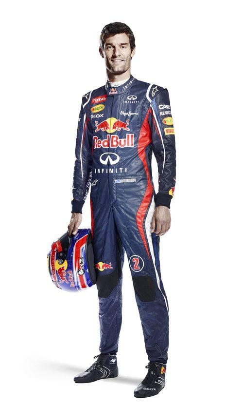Mark Webber, piloto de Red Bull para 2012