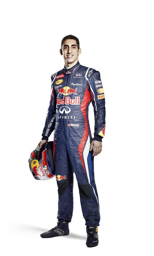Sébastien Buemi, piloto reserva de Red Bull para 2012