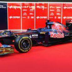 STR7, el monoplaza de Toro Rosso para 2012
