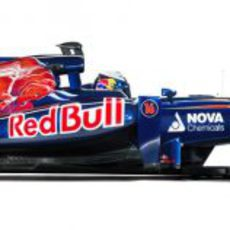 Toro Rosso STR7 (vista lateral)