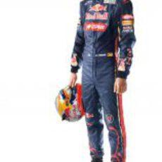 Jean-Eric Vergne, piloto de Toro Rosso para 2012