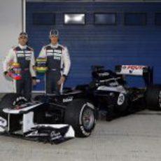 Williams presenta el FW34 de 2012