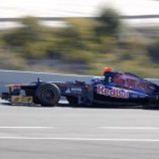 Daniel Ricciardo en el Toro Rosso en Jerez