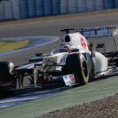 Kamui Kobayashi estrena el Sauber C31