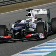 'Shakedown' del nuevo Sauber C31