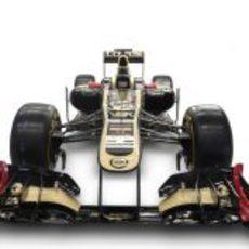 Lotus E20 (vista frontal)