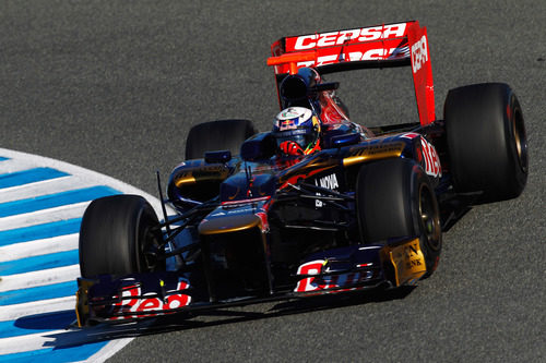 Ricciardo en Jerez con el STR7