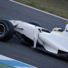 De la Rosa rueda en Jerez con el HRT
