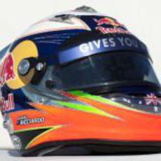 Casco de Daniel Ricciardo para 2012