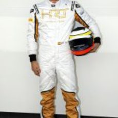 Pedro de la Rosa, piloto de HRT para 2012