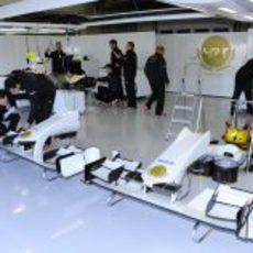Box de HRT en Jerez