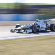 De la Rosa a toda velocidad con el F111