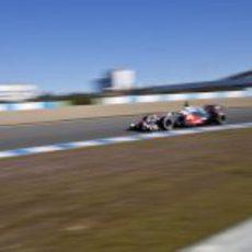 Jenson Button en Jerez con el McLaren