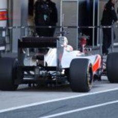 Trasera del McLaren MP4-27