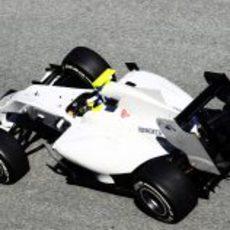 El HRT en Jerez con De la Rosa al volante