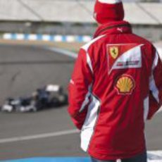 Massa ve pasar a los monoplazas en Jerez