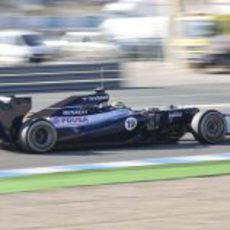 Bruno Senna en Jerez con el Williams