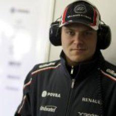 Valtteri Bottas en los test de Jerez