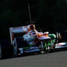 Bianchi en el Force India en Jerez