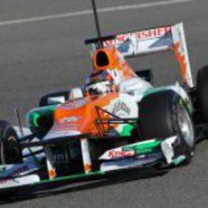 Jules Bianchi rueda en Jerez con el VJM05