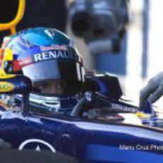 Último día de entrenamiento para Vettel en Jerez