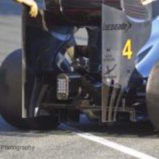 Difusor del McLaren MP4-27