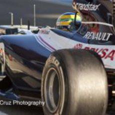 El Williams de Bruno Senna desde atrás