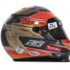 Casco de Romain Grosjean para 2012