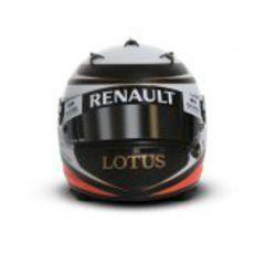 Casco de Kimi Räikkönen para 2012 (vista frontal)