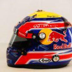 Casco de Mark Webber para 2012