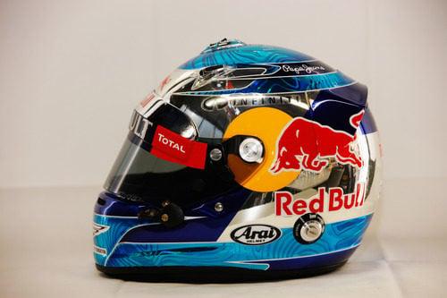 Casco de Sebastian Vettel para 2012