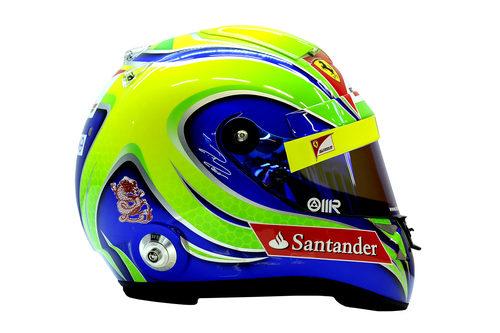 Casco de Felipe Massa para 2012