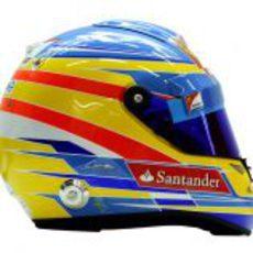 Casco de Fernando Alonso para 2012