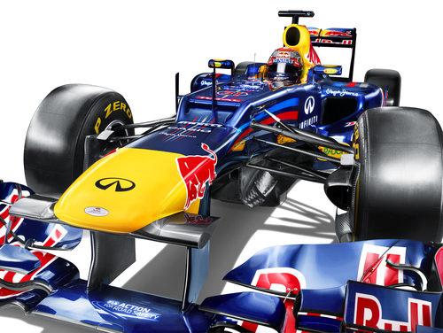 Entrada de aire en el morro del Red Bull RB8
