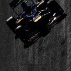 Vergne en el STR7 en Jerez
